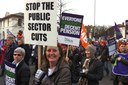 Britiske fagforeninger på krigsstien