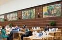 Med Munch i kantinen - for Freias arbeidere var kun det beste godt nok