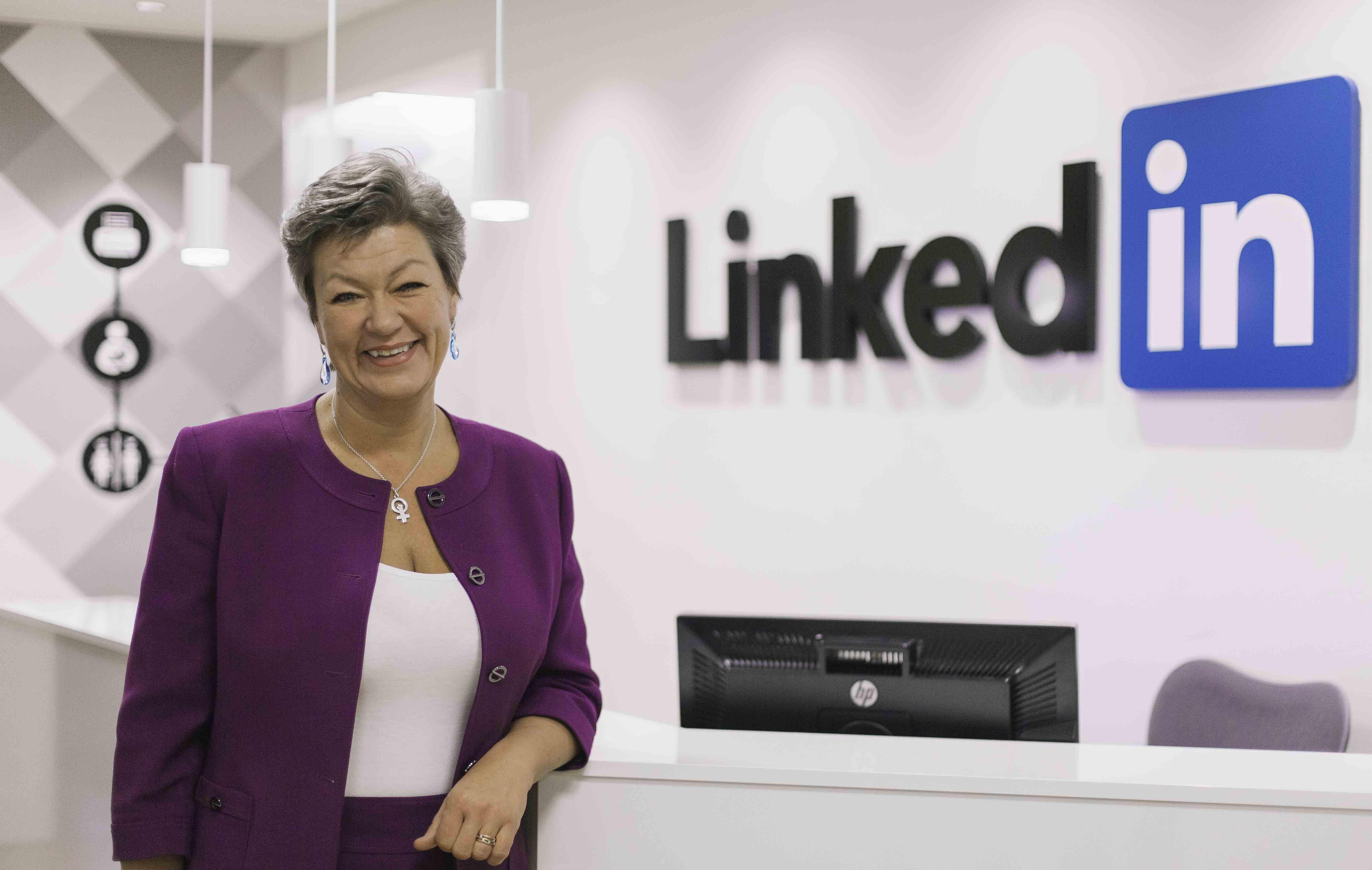"""""""LinkedIn kan komplettera arbetsförmedlingen"""""""