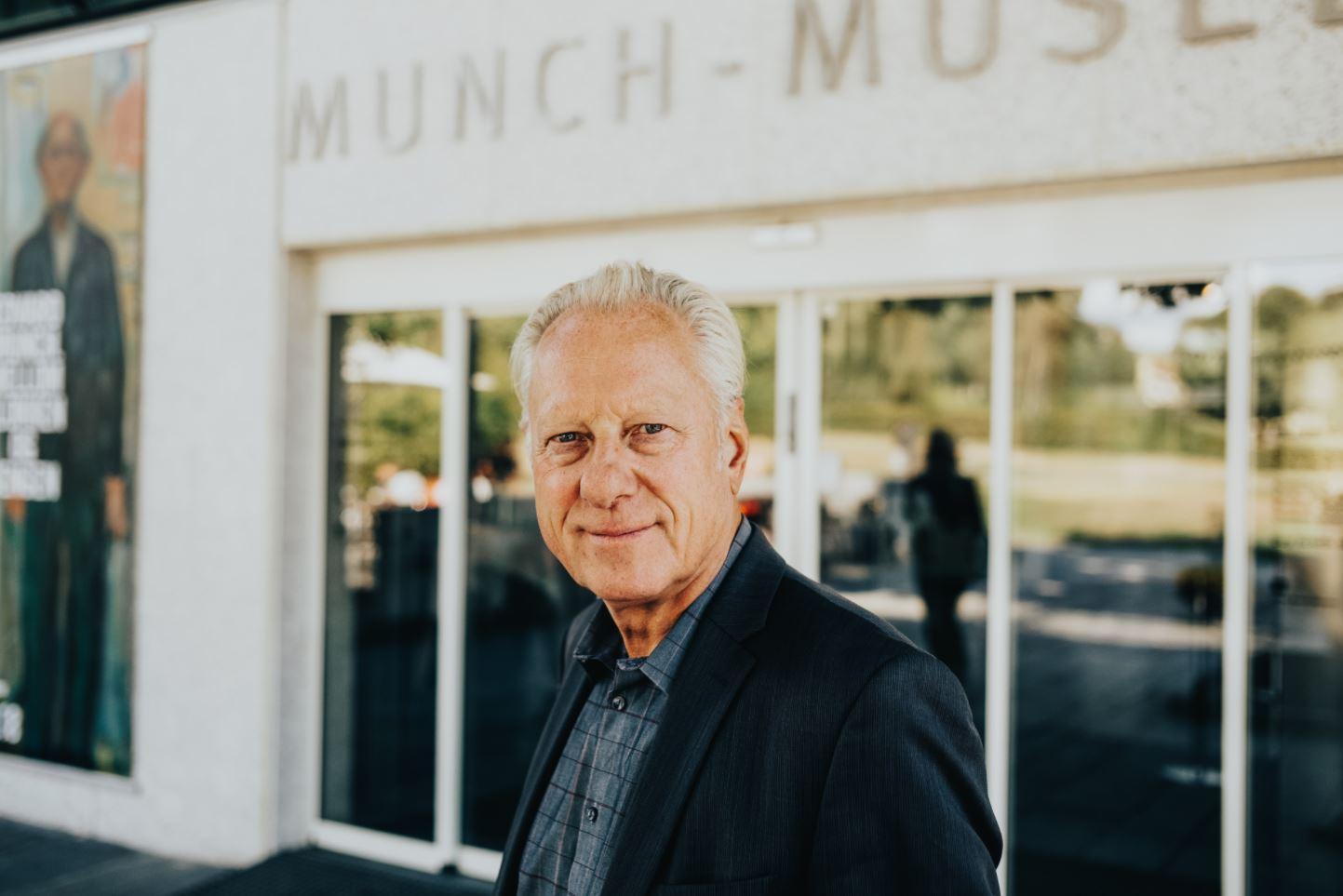 Stein Olav Henrichsen tar Munch inn i fremtiden