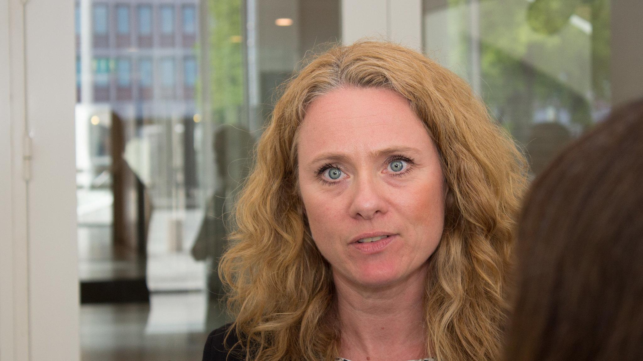 Norges arbeids- og sosialminister Anniken Hauglie brenner for sosialt entreprenørskap