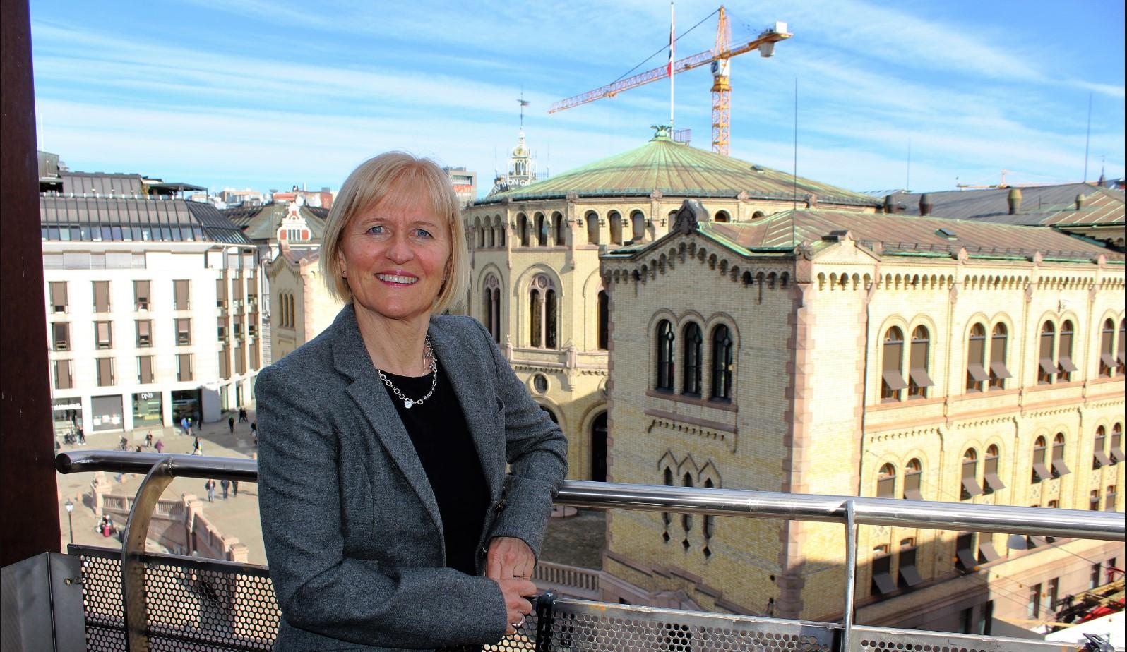 Ragnhild Lied –  Nordens fagligpolitiske leder står vakt om den nordiske modellen