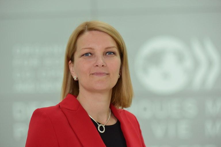 OECDs visegeneralsekretær Mari Kiviniemi: sverger til fakta og frykter proteksjonisme