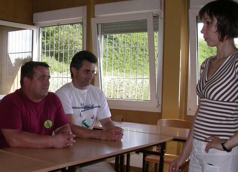 polske lastebilsjåfører på 4 ukers intensivt norskkurs hos bemanningsselskapet Adecco i Polen