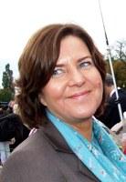 Hanne Bjurstrøm, ensom på Slottsbakken