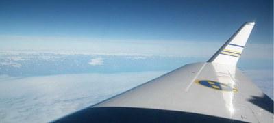 Flygbild Grönland
