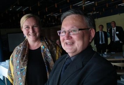Ewa Björling och Ove Karl Berthelsen