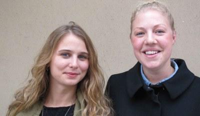 Josefin Ambring och Kajsa Davidsson