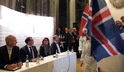 Invigning av Arktiska Rådets permanenta sekretartiat i Tromsø