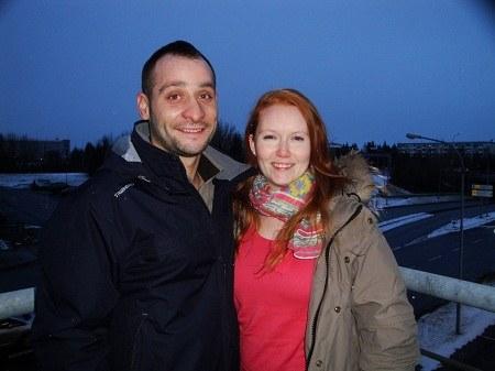 Halldís Eva Ágústsdóttir och Marcos Gonzalez María