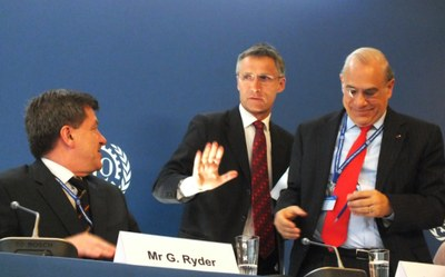 Ryder, Stoltenberg och Gurria