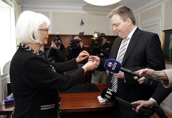 Ny isländsk regering