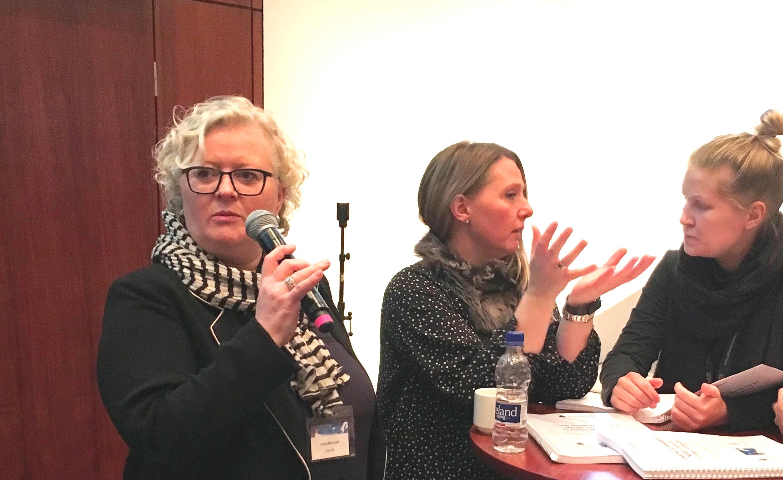 Nordisk velferdsvakt og håndtering av kriser prófessor Guðný Björk Eydal