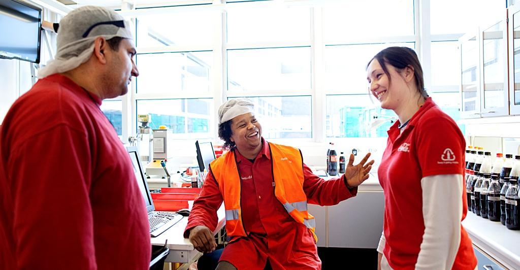 Språkundervisning ger Coca-Colas anställda större självförtroende