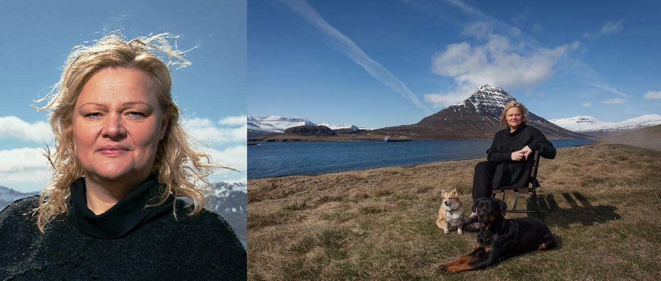 Hon längtade efter isländsk natur - och blev chef på ett aluminiumsverk