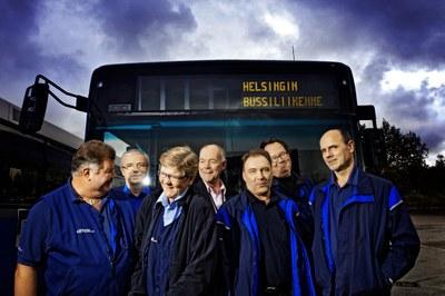 Busschaufförer - ett  utdöende yrke när Finland satsar på digitaliserad trafik?