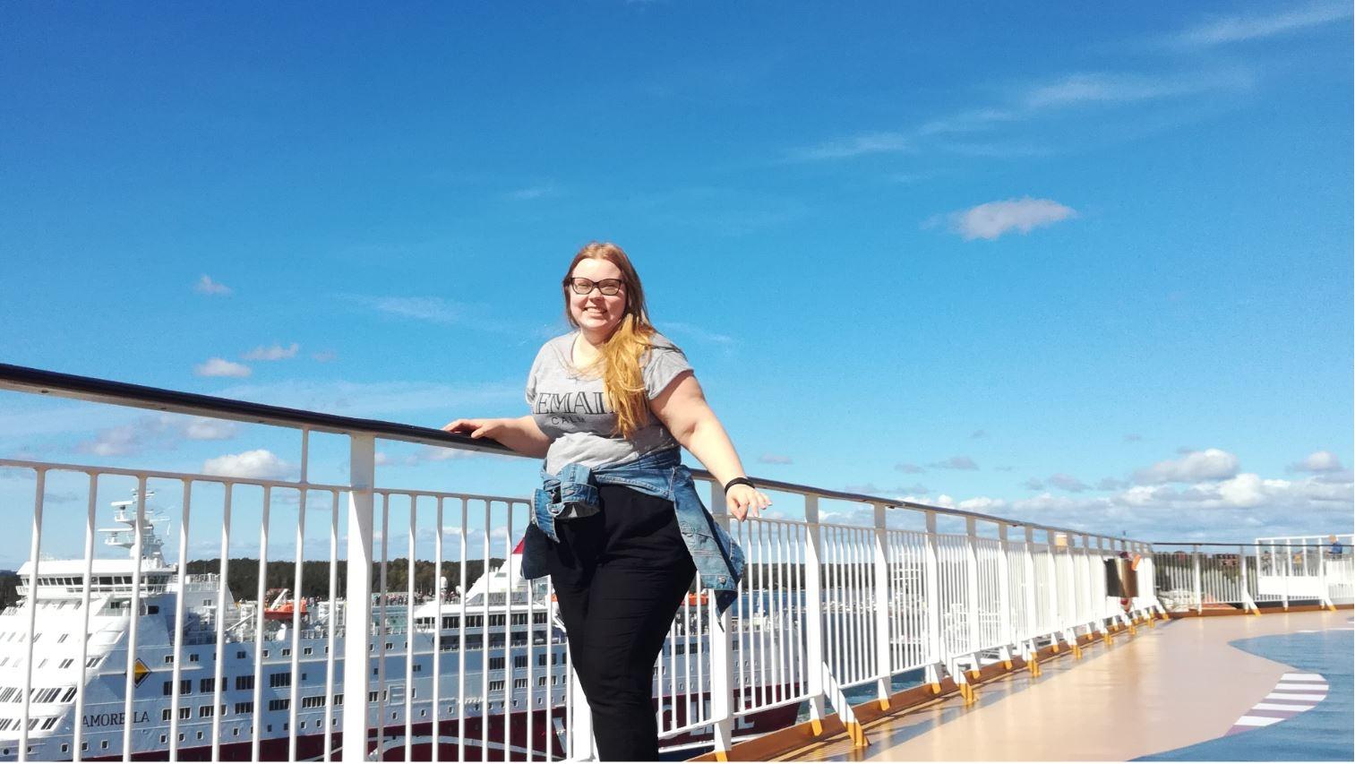Åland gav språksprång för finska Maria