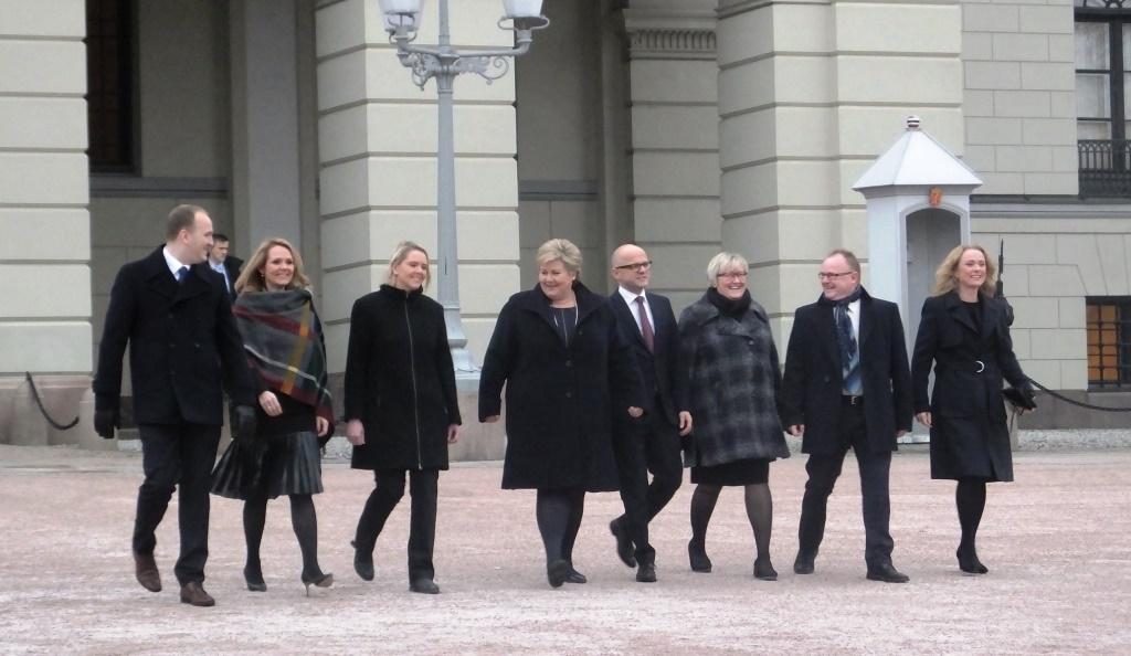 Anniken Hauglie blir Norges nya arbets- och socialminister