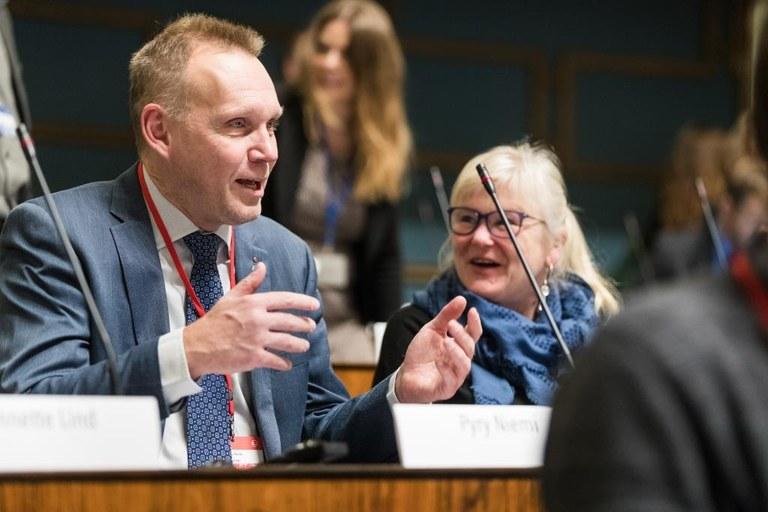 Nordiska rådet i Helsingfors: Löften om fördjupat samarbete på arbetsmarknaden