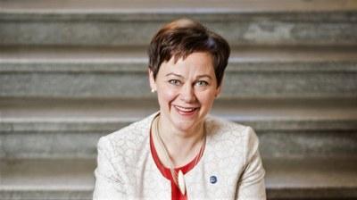 Kvinne på topp i Norden